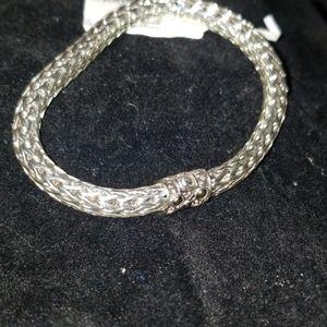 John hardy 18kYG/925 silver Dot Woven bracelet